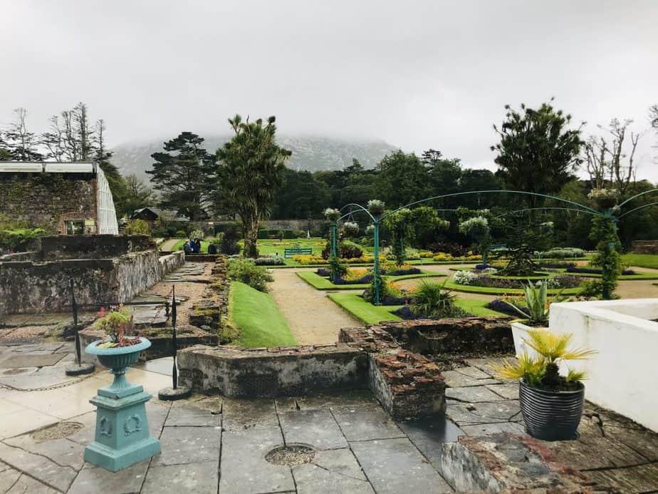 gardens at Kylemore Abbey